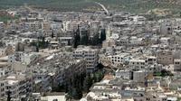 Vue générale sur Ariha, dans le nord-ouest de la Syrie, le 29 mai 2015 [GHAITH OMRAN / AL-MAARRA TODAY/AFP/Archives]