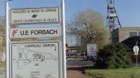 L'entrée de la mine de charbon Forbach le 26 novembre 1997 [Franck Fife / AFP/Archives]