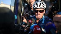 Lance Armstrong, le 16 juillet 2015, au Vernet (sud-ouest) [STEPHANE DE SAKUTIN / AFP/Archives]