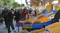 Le grand bazar de Téhéran le 3 novembre 2018 [ATTA KENARE / AFP]