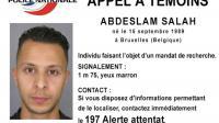 """Photo diffusée le 15 novembre 2015 par la police nationale d'un """"appel à témoin"""" concernant Abdelslam Salah, un suspect dans l'enquête sur les attentats de Paris [ / POLICE NATIONALE/AFP]"""