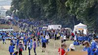 Camp de scouts au château de Jambville, dans les Yvelines en juillet 2012 [Kenzo TRIBOUILLARD / AFP/Archives]
