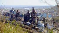 Les hauts fourneaux d'ArcelorMittal à Florange à l'arrêt, le 24 avril 2013 [Jean-Christophe Verhaegen / AFP/Archives]