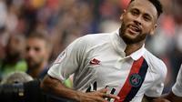 L'attaquant du PSG Neymar lors de la victoire 1-0 à domicile sur Strasbourg le 14 septembre 2019 [Martin BUREAU / AFP]