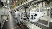 Le marché automobile français a augmenté de 2,2% en mars sur un an, grâce aux bonnes ventes de PSA et en particulier de ses marques DS et Opel, selon les statistiques publiées dimanche par le Comité des constructeurs français d'automobiles (CCFA) [Sébastien BOZON / AFP/Archives]