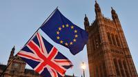 Deux ans après le Brexit, l'idée d'un nouveau référendum fait son chemin au Royaume-Uni [Ben STANSALL / AFP]