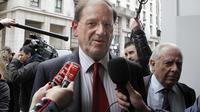 Le député UMP Hervé Novelli à Paris le 7 mai 2012 [Francois Guillot / AFP/Archives]