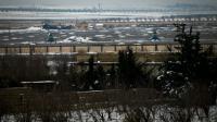 La base aérienne de Minnigh, en Syrie, le 11 janvier 2013 [ZAC BAILLIE / AFP/Archives]