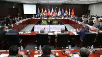 Les ministres du Commerce et des délégués se rencontrent pour trouver un nouvel accord de libre-échange à Danang, le 9 novembre 2017 au Vietman [Na Son Nguyen / POOL/AFP/Archives]
