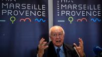 Jean-Claude Gaudin, 76 ans, démissionnaire de la présidence de la métropole Aix-Marseille-Provence [CHRISTOPHE SIMON / AFP]