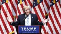 Le candidat républicain à la Maison Blanche, Donald Trump, le 16 juillet 2016 à New York [KENA BETANCUR / AFP]