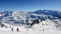 Une piste de la station de ski de l'Alpe-d'Huez en France [Jean-Pierre Clatot / AFP/Archives]