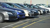 Des voitures neuves dans une usine Toyota à Melbourne le 10 février 2014 [Paul Crock / AFP/Archives]