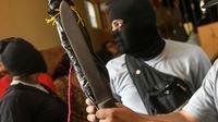 Des partisans du président nicaraguayen Daniel Ortega le 9 juillet 2018 à Diriamba. [MARVIN RECINOS / AFP/Archives]