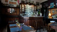 Cette photo prise le 21 août 2018 montre l'intérieur du PastaCafé, à Alsemberg, au sud de Bruxelles (Belgique) [JOHN THYS / AFP]