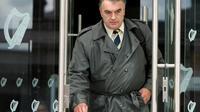 Ian Bailey quitte le tribunal de Dublin, en Irlande, le 21 juillet 2010 [PETER MUHLY / AFP/Archives]