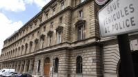 Vue en date du 13 mai 2010 de l'entrée du 36 quai des Orfèvres à Paris  [Thomas Coex / AFP/Archives]