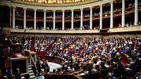 L'Assemblée nationale, avant le discours d'Edouard Philippe, le 4 juillet 2017 [Martin BUREAU / AFP/Archives]