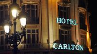 Vue extérieure en date du 29 janvier 2012 de l'hôtel Carlton à Lille [Philippe Huguen / AFP/Archives]