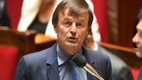 Le ministre de la Transition écologique, Nicolas Hulot, le 3 juillet 2018 à l'Assemblée nationale. [Eric FEFERBERG / AFP]