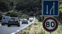 La limitation de vitesse à 80 km/h sur les routes secondaires est entrée en vigueur le 1er juillet.