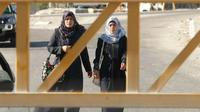 Entrée fermée par l'armée israélienne de Hebron, la plus grande ville de Cisjordanie, le 2 juillet 2016  [HAZEM BADER / AFP]