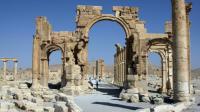 L'Arc de triomphe de Palmyre, le 19 juin 2010 en Syrie [ / AFP/Archives]