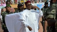 Le président nigérien sortantMahamadou Issoufou, à Niamey, le 18 février 2016  [ISSOUF SANOGO / AFP/Archives]