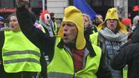Manifestation des «gilets jaunes» à Lille le 2 mars 2019. [Philippe HUGUEN / AFP/Archives]
