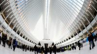 La gare du World Trade Center à New York, le 3 mars 2016 [Timothy A. CLARY                / AFP]