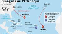Ouragans sur l'Atlantique [ / AFP]