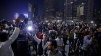 Manifestation pour réclamer la démission du président  Abdel Fattah al-Sisi le 20 septembre 2019 au Caire [STR / AFP/Archives]