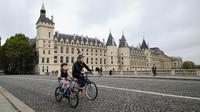 Journée sans voitures en 2017 à paris [ERIC FEFERBERG / AFP/Archives]