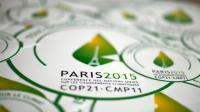 Le logo de la COP21 à Paris [Dominique Faget / AFP/Archives]