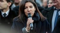 La maire de Paris Anne Hidalgo à Paris le 5 décembre 2016 [GEOFFROY VAN DER HASSELT / AFP/Archives]