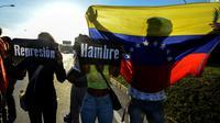 Manifestation anti-Nicolas Maduro, le 30 mars 2017, à Caracas [Juan BARRETO / AFP/Archives]