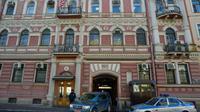 Le consulat américain à Saint-Pétersbourg, le 30 mars 2018 [OLGA MALTSEVA / AFP]
