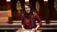 Cécile Duflot, co-présidente du groupe écologiste à l'Assemblée, lors du débat sur la révision constitutionnelle, le 5 février 2016 à Paris [LIONEL BONAVENTURE / AFP]