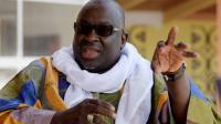 Papa Massata Diack, interviewé par l'AFP à Dakar, le 6 mars 2017 [SEYLLOU / AFP]