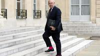 Le ministre français des Finances Michel Sapin à l'Elysée, à Paris, le 3 juin 2014 [Alain Jocard / AFP/Archives]
