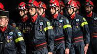 Des pompiers à la Cité des Sciences et de l'Industrie, le 4 décembre 2018 à Paris [STEPHANE DE SAKUTIN / AFP/Archives]