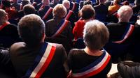 Au congrès des maires de France, en novembre 2017 à Paris [JACQUES DEMARTHON / AFP/Archives]