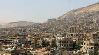 Vue d'un quartier de Damas, le 29 septembre 2015. [Louai BESHARA / AFP/Archives]
