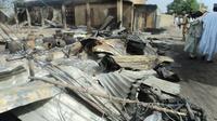 Une précédente attaque à Mafa, au Nigeria, le 2 mars 2014  [STRINGER / AFP/Archives]