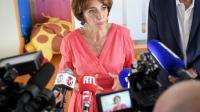 La ministre des Affaires sociales Marisol Touraine, lors d'une conférence de presse, le 19 juillet 2016 à Chambray-les-Tours [GUILLAUME SOUVANT / AFP/Archives]
