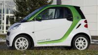 Une voiture Smart ForTwo à l'usine de Hambach dans l'est de la France [Jean-Christophe Verhaegen / AFP/Archives]
