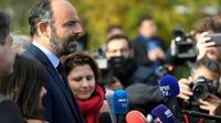 Edouard Philippe à Saint-Ouen le 4 novembre 2019 [Lionel BONAVENTURE / AFP]