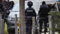 Des membres du GIGN, le 2 décembre 2017 à Auros (Gironde)  [MEHDI FEDOUACH / AFP]