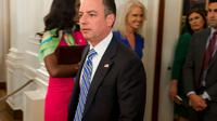 le secrétaire général de la Maison Blanche, Reince Priebus, le 27 juillet 2017 à Washington [SAUL LOEB / AFP]
