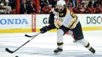 Le Tchèque Jaromir Jagr avec les Boston Bruins contre Chicago en Stanley Cup le 15 juin 2013 à Chicago [Harry How / Getty Images/AFP/Archives]